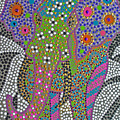 Polka Dot Ganesha by Vijay Sharon Govender