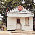 Polk's Meat Market by Scott Pellegrin