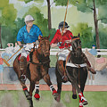 Polo In The Afternoon 2 by Jean Blackmer
