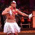Polynesian Warrior Dancer by Denise Mazzocco