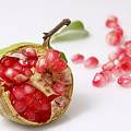 Pomegranate And Seeds  by Yedidya yos mizrachi