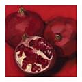 Pomegranite Trio by Amy Welborn