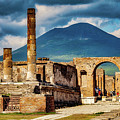 Pompeii Redeux by Ed Tepper