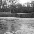 Pompton Spillway In January by Christopher Lotito