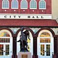 Ponca City City Hall by Betty LaRue