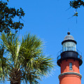Ponce Del Leon Inlet Florida by Allan  Hughes