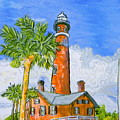 Ponce Lighthouse by W Gilroy