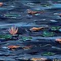 Pond Jewels by Brenda Stevens Fanning