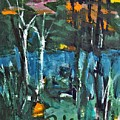 Pond Near Fourth Lake by Betty Pieper