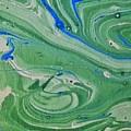 Pond Swirl 1 by Jan Pellizzer