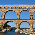 Pont Du Gard, Gardon River by Aivar Mikko