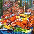 Pontchartrain Crabs by Dianne Parks