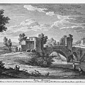 Ponte Mammolo by Giuseppe Vasi