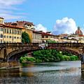Ponte Santa Trinita by Anthony Dezenzio