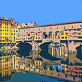 Ponte Vecchio Florence by Dominic Piperata