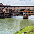 Ponte Vecchio Florence Italy II by Joan Carroll