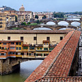 Ponte Vecchio From Uffizi                by Jennie Breeze