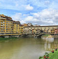 Ponte Vecchio Panorama by Dave Mills