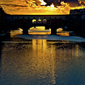 Ponte Vecchio Sunset  by Harry Spitz