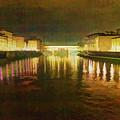 Ponte Vecchio Watercolor by Adam Rainoff