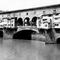 Ponte Vicchio Bridge In Florence Italy - C 1905 by International  Images