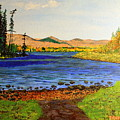 Pontoosuc Lake Pittsfield Massachusetts by William Tremble