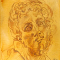 Pontormo - Italian Renaissance, Mannerism, Drawing Portrait, Jacopo Pontormo by Alessandro Nesci