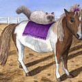 Pony Lil And Cat Annie by Carol Wilson
