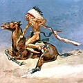 Pony War Dance by Frederic Remington