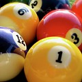 Pool Balls by Lillian Bell