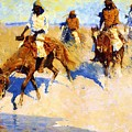 Pool In The Desert 1907 by Remington Frederic