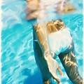 Pool Lady by Thomas  Hansen