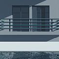 Pool Side by Richard Rizzo