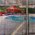 Pool View by Lynne Haines