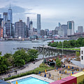 Pool With A View, Brooklyn, New York #130706 by John Bald