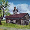 Poor Old Barn by Cathy Shepard