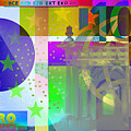 Pop-art Colorized One Hundred Euro Bill by Serge Averbukh
