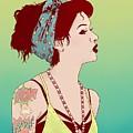 Pop Art Lady by Hypathie Aswang