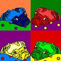 Pop Art Pug by Purely Pugs Design