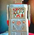 Pop Art Robot R-1 by Edward Fielding