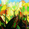 Popart Tulips by Jeffrey Todd Moore