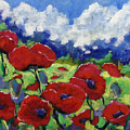 Poppies 003 by Richard T Pranke