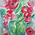 Poppies Celebration by Jasna Dragun