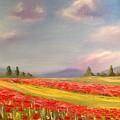 Poppies by Eve Mariya Blyznyuk