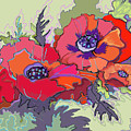Poppies IIi by Peggy Wilson
