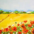 Poppies In Alentejo by Nela Vicente