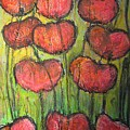 Poppies In Oil by Laurie Maves ART