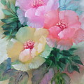 Poppies In Pastel Colors by Jennilyn Villamer Vibar