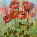 Poppies In Pastel Watercolour by Joy of Life Art Gallery