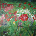 Poppies by Impressionist FineArtist Tucker Demps Collection
